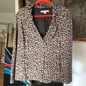 Jackets & Blazers - Leopard print jacket